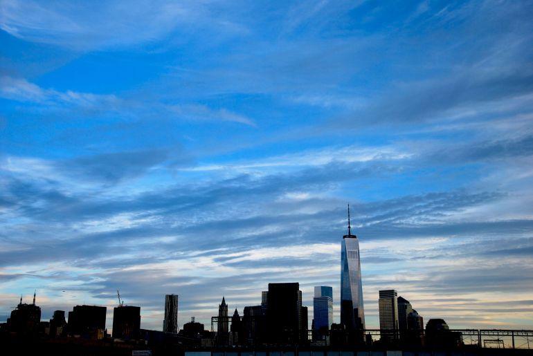 The Hudson River/Manhattan